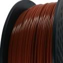 Filament d'imprimante 3D 3.00 mm PLA-Flex brun 7587 C