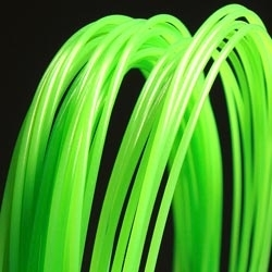 PP 3D printer filament 1.75 mm close to glow in the dark green 2270 C