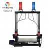 VIVEDINO T-Rex 3.0 Large Format Multi-function IDEX 3D Printer with 400x400x500mm Build Size