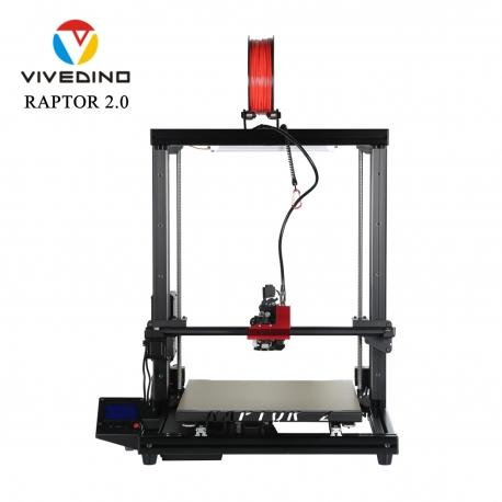 FORMBOT Vivedino Raptor 2.0 heavy-duty 3D printers flexible filament ready