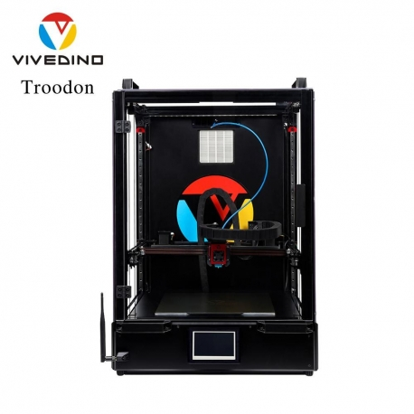 VIVEDINO Troodon Core-XY Fast 300 & 400mm 3D Printer Enclosure with Filter Wireless Flexible plate, Rails, etc