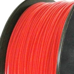 ABS 3D printer filament 2.85mm fluo red 032C