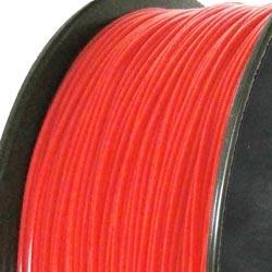 Filament d'imprimante 3D ABS 3.00 mm rouge fluo 032C