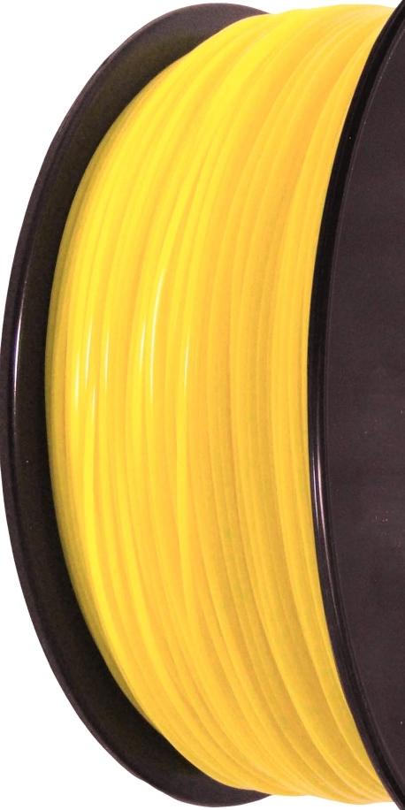 Filament d'imprimante 3D PA 3.00 mm jaune 7548C