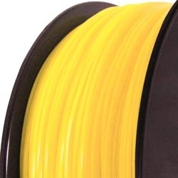 PA 3D printer filament 2.85mm yellow 7548C