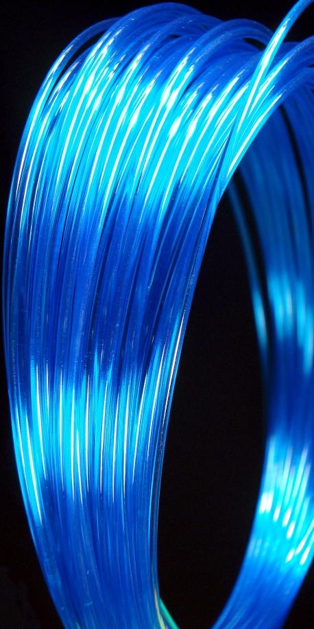 Filament d'imprimante 3D PC 3.00 mm bleu 2935C