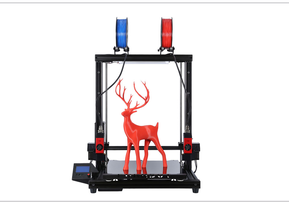 Independent Dual Extruder IDEX Large 3D printer