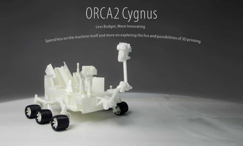 xinkebot orca 2 cygnus sample 3d prints