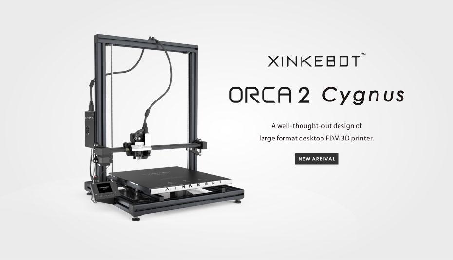 xinkebot orca cygnus large dual extruder 3d printer