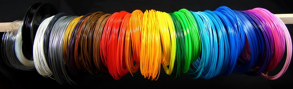 3D printer filament color samples ColoriLAB